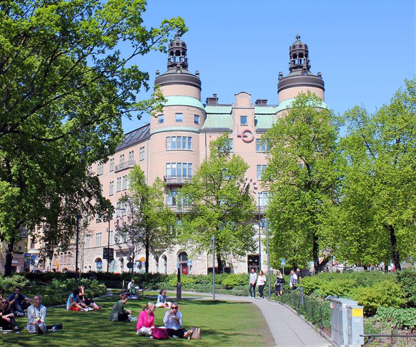 LO-borgen, Norra Bantorget